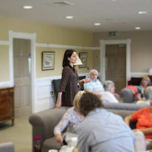 Jane Tennant Gives A Tour and Talk At Tennants Garden Rooms
